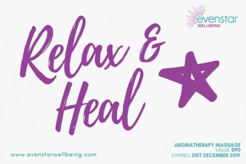 Aromatherapy Massage Voucher