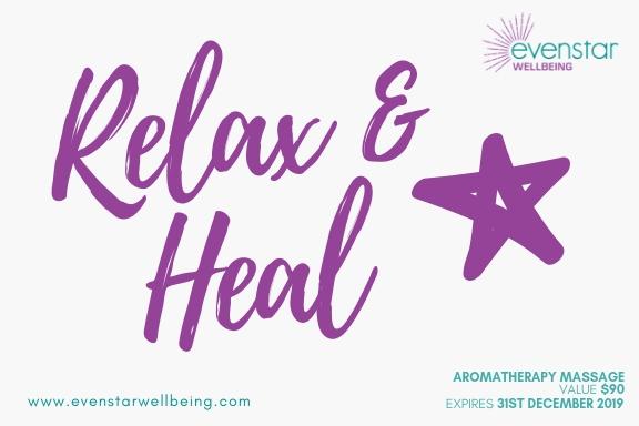 Aromatherapy Massage Voucher