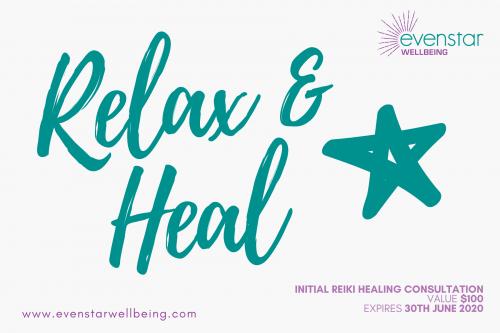 Relax & Heal Initial Consultation Voucher