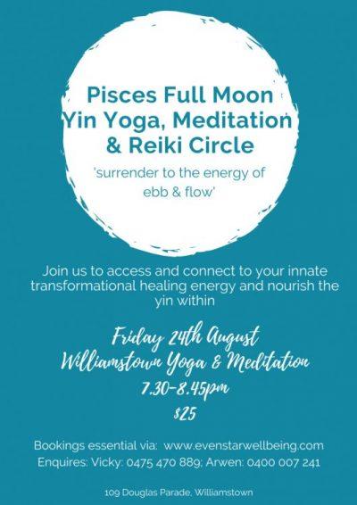 Pisces Full Moon Flyer